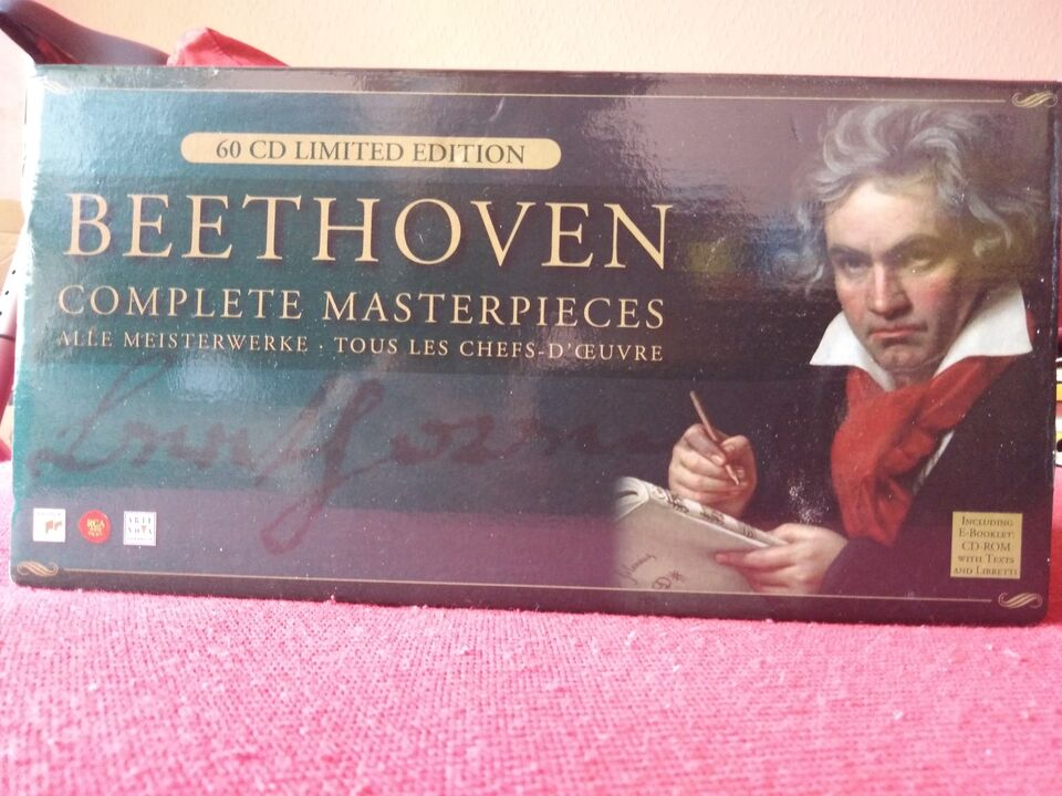 Beethoven Opere Complete 60 CD Limited Edition