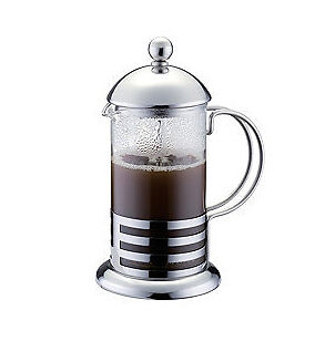 how to avoid grounds in french press