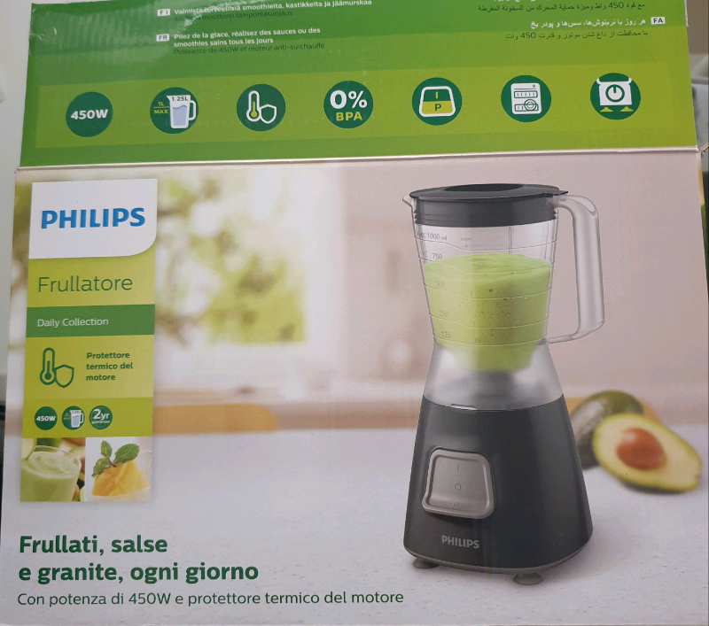 Frullatore Daily Collection PHILIPS - lama a stella a 4 punte 2