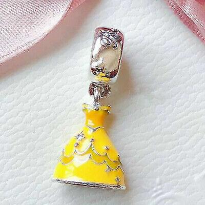 Pandora Disney Charm Il Vestito di Belle 791576ENMX