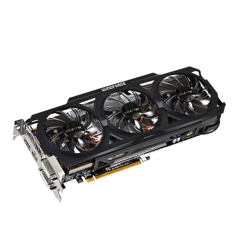 Gigabyte AMD Radeon R9 270X (GV-R927XOC-2GD) 2GB / 2GB (max) GDDR5 SDRAM  PCI Express 3 0 Video Card