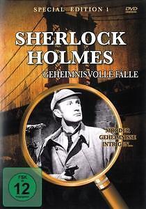 SHERLOCK HOLMES-GEHEIMNISVOLLE FÄLLE-SPECIAL EDITION 1-DvD NEU-