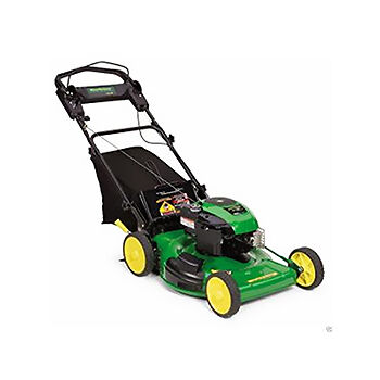 john deere lawn mower. the john deere js36 is a self-propelled, walk-behind lawn mower designed for residential use. because it users can easily push this