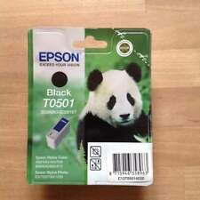 Epson Black Ink Cartridge T0501 Originale nuova sigillata