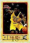 Fleer Ron Artest Basketball Trading Cards