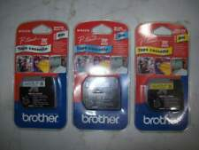 Tape cassette nastro etichettatrice Brother 9mm 8m