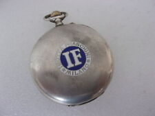 """Isotta Fraschini """" by Longines in argento con punzone 800"""