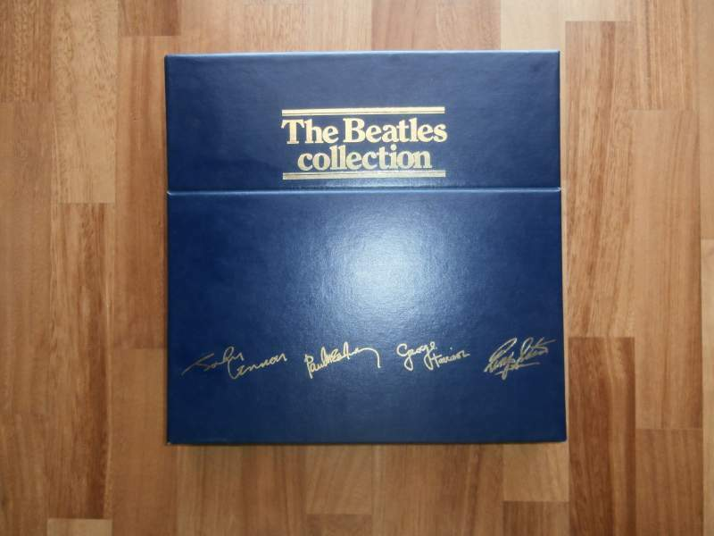 Dischi in vinile the beatles collection