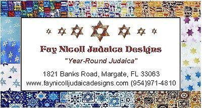 Fay Nicoll Judaica Designs