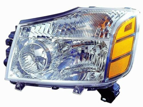 Nissan Headlamp Assembly : Nissan titan armada new left driver