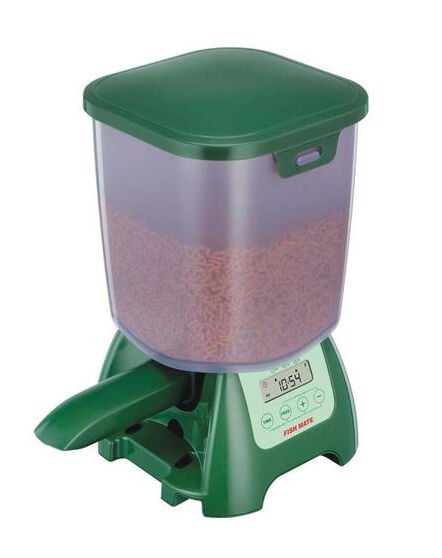 Top 6 automatic fish feeders ebay for Automatic pond fish feeder