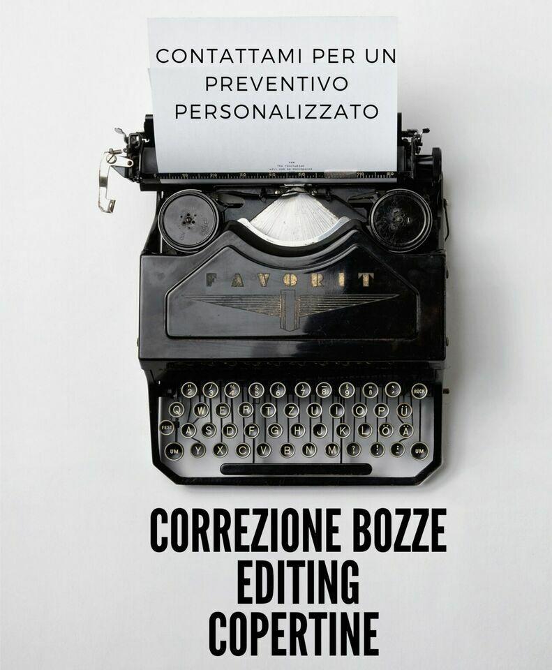 Editing manoscritti inediti, correzione romanzi