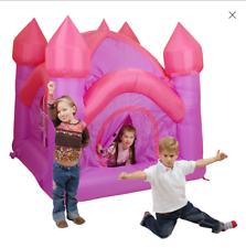 Castello gonfiabile principessa rosa