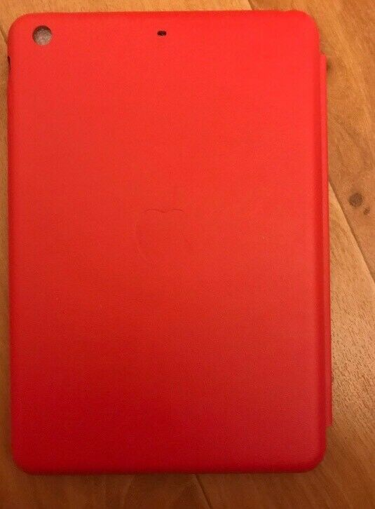 Custodia iPad Mini Smart Case in Pelle rossa 3