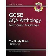 GCSE-Anthology-AQA-Poetry-Study-Guide-Relationships-Higher-by-CGP-Books