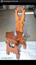 Sedie in legno massiccio
