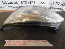 Faro fanale anteriore opel astra j berlina 13253646 anno 2010