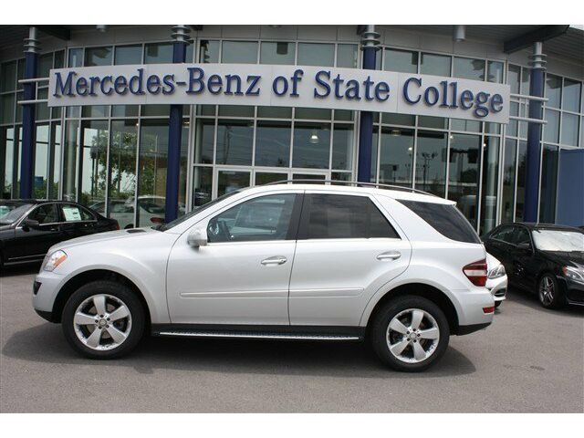 Ml350 suv cd awd power steering 4 wheel disc brakes for Mercedes benz of state college