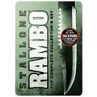 Rambo: The Complete Collector's Set (DVD, 2008, 6-Disc Set)
