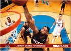 Panini Refractor LeBron James Basketball Trading Cards