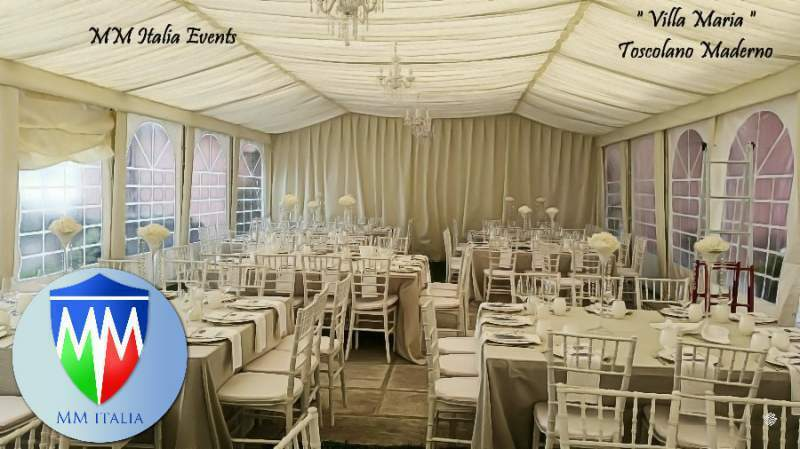 Tendoni Gazebo per Matrimoni Eventi, Catering MM Italia 7