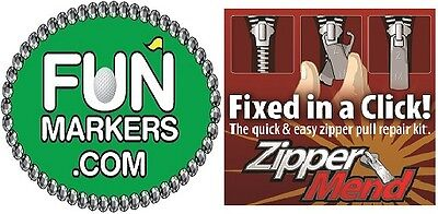 Golf Ball Markers and Zipper Pulls