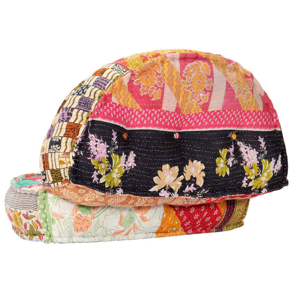 Pouf 100x20 cm in Tessuto Patchwork 3