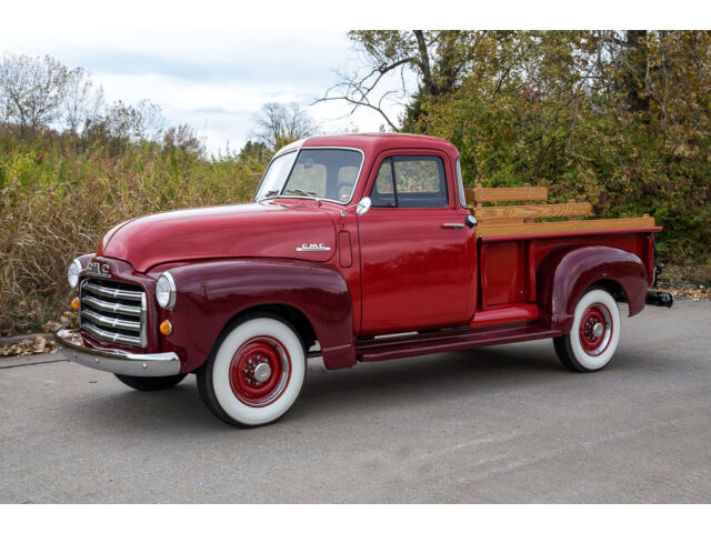 1951 gmc 5 window pickup complete restoration 130 miles