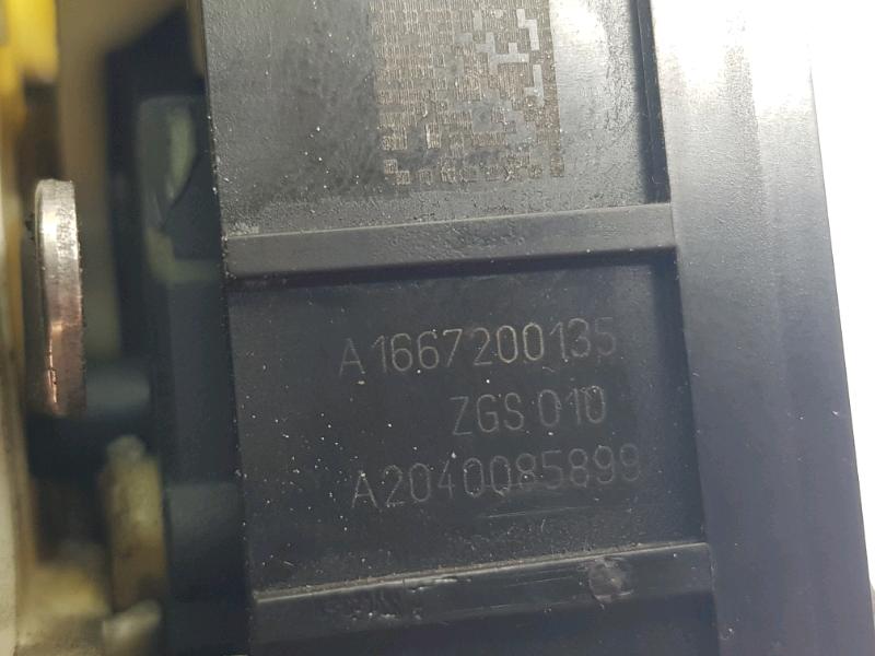 Serratura elettrica lato guida classe A W176 B W246 GLA W156 CLA W117 4