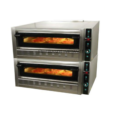 Forno pizza a gas 2 camere 9+9 pizze