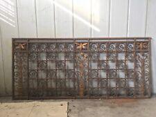 Inferriate decorative antiche