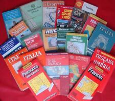 20 carte stradali turismo anni 70-80