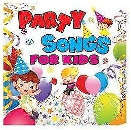 FREE US SHIP. on ANY 3+ CDs! USED,MINT CD Various: Party Songs For Kids Single