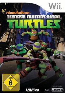 Nickelodeon Teenage Mutant Ninja Turtles (Nintendo Wii) - Deutschland - Nickelodeon Teenage Mutant Ninja Turtles (Nintendo Wii) - Deutschland