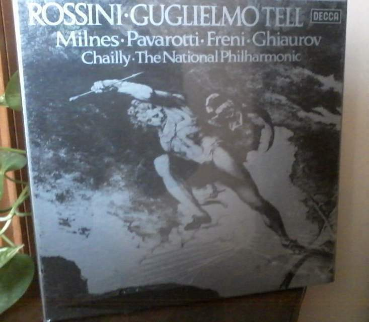 Rossini - Guglielmo Tell - box vinile sigillato.