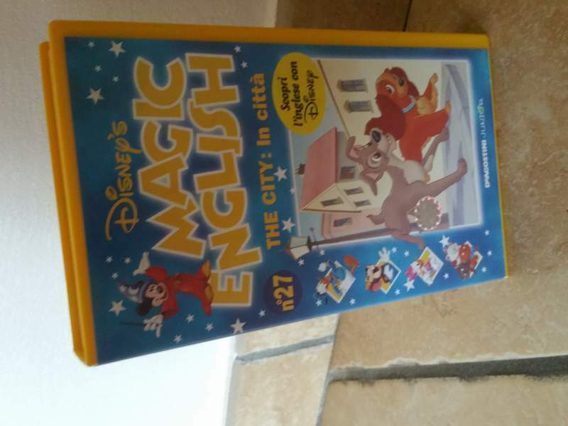 Videocassette VHS ORIGINALI Disney Magic English 6