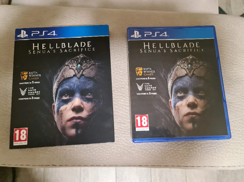 Hellblade special edition ps4/ps5
