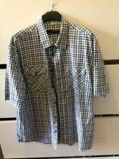 Crown camicia manica corta scozzese Made in Italy