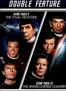 Star Trek V The Final Frontier / Star Trek VI The Undiscovered Country - $3.43