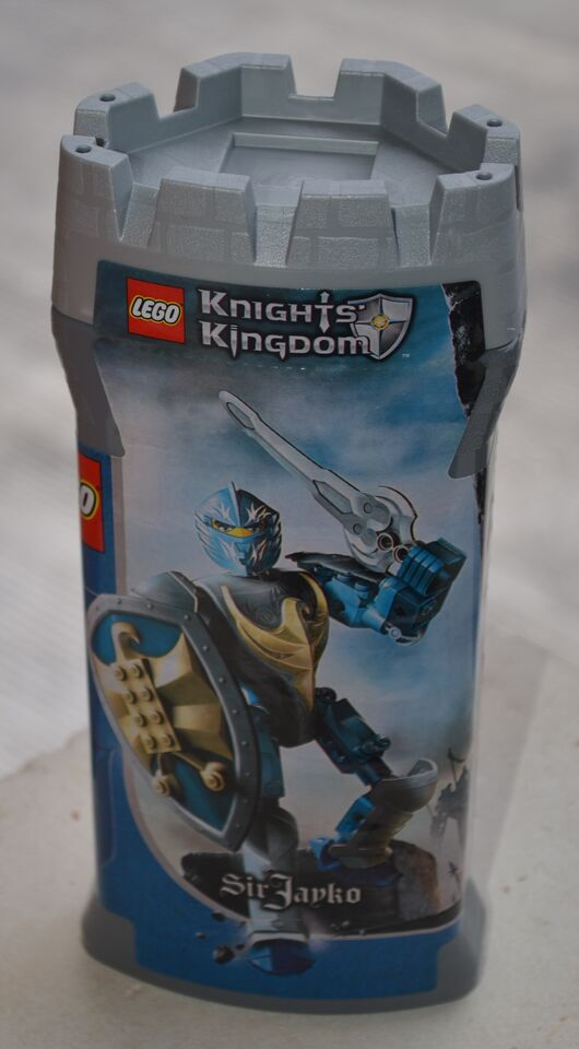 Lego 8792 Knights Kingdom Sir Jayko MISB mai aperto