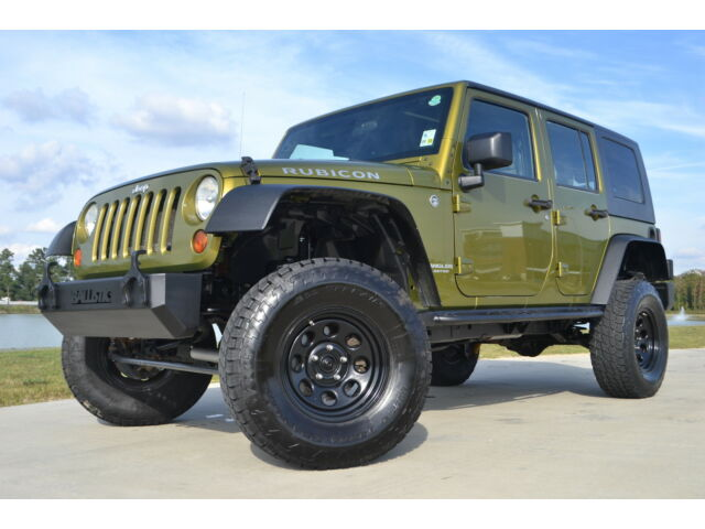 2008 jeep wrangler rubicon 4x4 jk four door lifted used jeep wrangler for sale in baton rouge. Black Bedroom Furniture Sets. Home Design Ideas