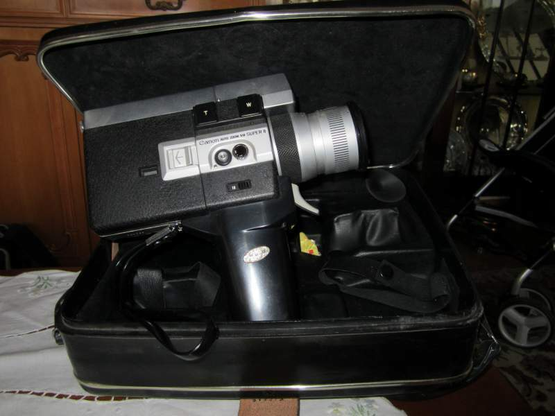 Cinepresa Canon super 8 del 1970