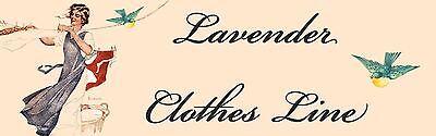 Lavender Clothes Line
