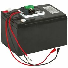 Kerbl Set Completo Batteria al Gel 12 V 12 Ah Nera 441215