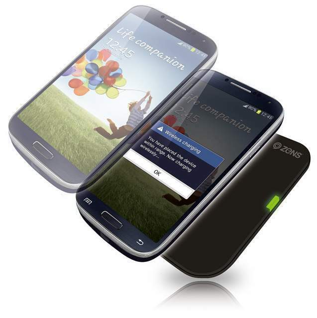 Caricabatterie Wireless per Samsung Galaxy S4