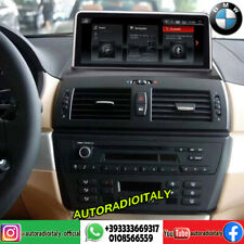 """Navigatore BMW Serie X3 E83 dal 2004 display 10.25"""" Android 10"""
