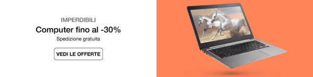 Computer e notebook fino al -30%