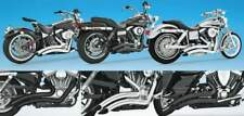 Scarichi freedom performance sharp curve radius h-d dyna t.c.
