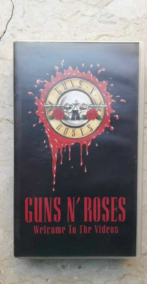 Guns N'roses - Welcome To The Videos VHS...