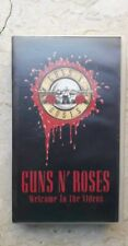 Guns N'roses - Welcome To The Videos VHS VIDEOCASSETTA 📼